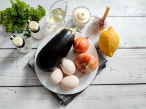 Салат из жареных баклажанов с майонезом - фото шаг 1