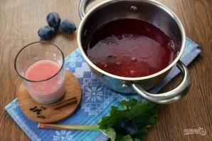 Сливовый суп с ревенем - фото шаг 4