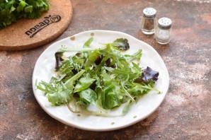 Салат из гребешков с рукколой - фото шаг 3