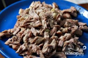 Свинина с грибами и сладким картофелем - фото шаг 3