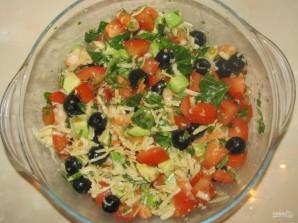 Салат из сыра и авокадо - фото шаг 8