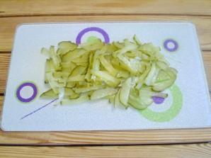 Салат к жареной рыбе - фото шаг 3
