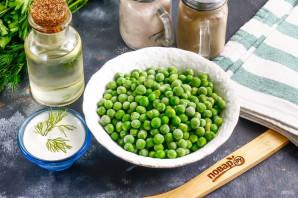 Мусс из зеленого горошка - фото шаг 1