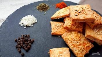Крекеры с солью и перцем - фото шаг 4