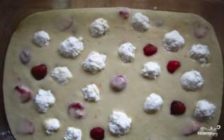 Творожный пирог на кефире - фото шаг 3