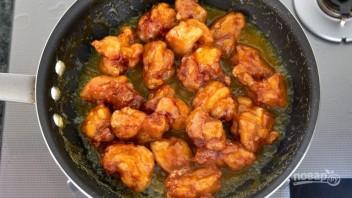 Курица по-китайски в сладеньком соусе - фото шаг 7