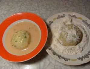 Картофельные зразы с курицей - фото шаг 5