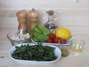 Салат из зеленой фасоли с орехами - фото шаг 1