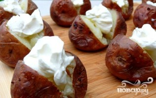 Фаршированный картофель - фото шаг 2