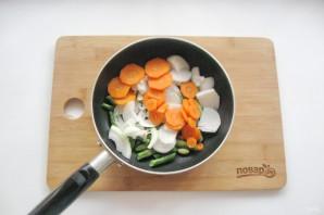 Мясные котлеты с овощами - фото шаг 3