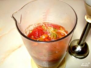 Быстрый томатный суп с креветками - фото шаг 3