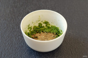Зеленая аджика по-абхазски - фото шаг 4