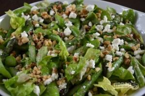 Салат со спаржей, орехами и фетой - фото шаг 5