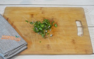 Картофельное пюре из батата с зеленью - фото шаг 6
