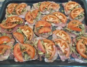 Французские отбивные из свинины в духовке - фото шаг 12