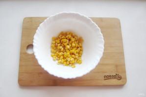 Крабовый салат без яиц - фото шаг 2