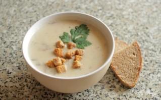 Сырный крем-суп с курицей - фото шаг 5
