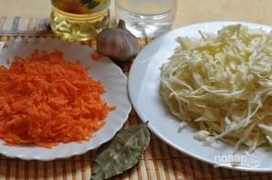 """Рецепт салата """"Капуста по-корейски"""" - фото шаг 1"""
