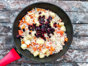 Рис с тыквой и яблоками - фото шаг 6