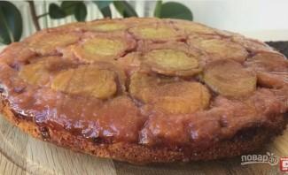 Очень вкусный сливовый пирог-перевертыш - фото шаг 8