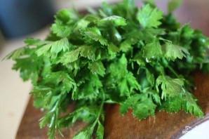 Салат из отваренных баклажанов - фото шаг 4