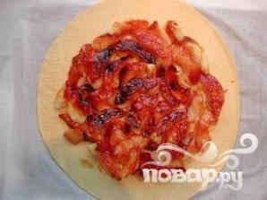 Пирог с карамельными яблоками - фото шаг 8