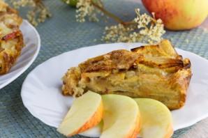 Яблочный пирог (мало теста, много яблок) - фото шаг 9