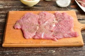 Рулет из свинины с овощами - фото шаг 3