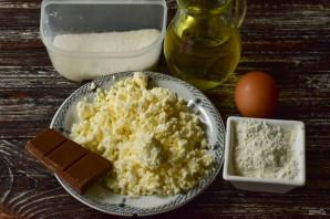 Сырники из творога с шоколадом - фото шаг 1