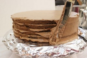 Пышный торт - фото шаг 16