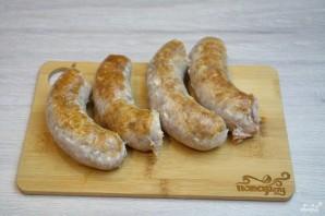 Колбаски под соусом - фото шаг 2