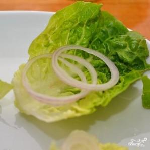 Салат-сендвич - фото шаг 3