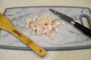 ПП салат с курицей - фото шаг 2
