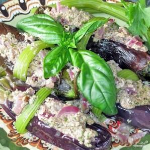 Баклажаны сациви с грецкими орехами - фото шаг 7