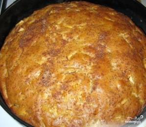 Постный яблочный пирог с корицей - фото шаг 8