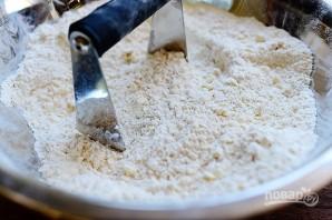 Песочные сконы с сыром и перцем - фото шаг 2
