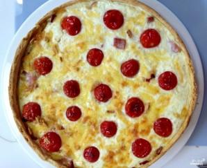 Киш с томатами и моцареллой - фото шаг 5