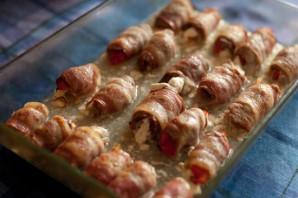 Рулетики из свинины с сыром - фото шаг 2