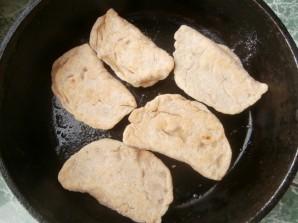 Быстрые пирожки на сковороде - фото шаг 5