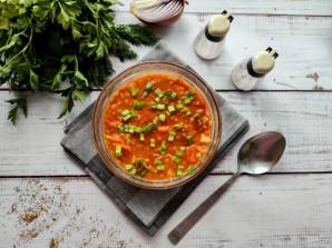 Суп с чечевицей и кабачком - фото шаг 7