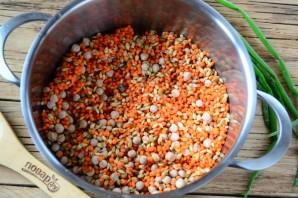 Наваристый суп из смеси бобовх и круп - фото шаг 3