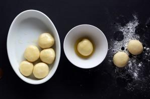 Сладкие булочки из дрожжевого теста - фото шаг 7