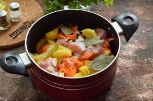 Индейка с картошкой и кабачками