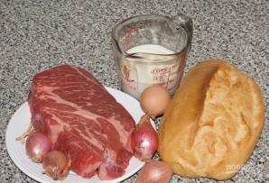 Вкусные котлеты из говяжьего фарша - фото шаг 1