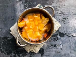 Варенье из апельсинов и моркови - фото шаг 5