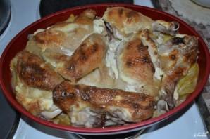 Курица с картошкой запеченная в духовке - фото шаг 5