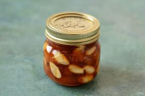 Персиковое варенье с миндалем - фото шаг 9