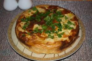 Пирог с индейкой и картофелем - фото шаг 8