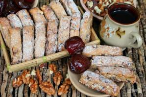 Печенье с орехами и финиками - фото шаг 8