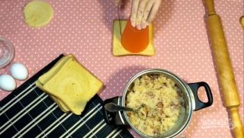 Лентяйские пирожки из хлеба - фото шаг 5